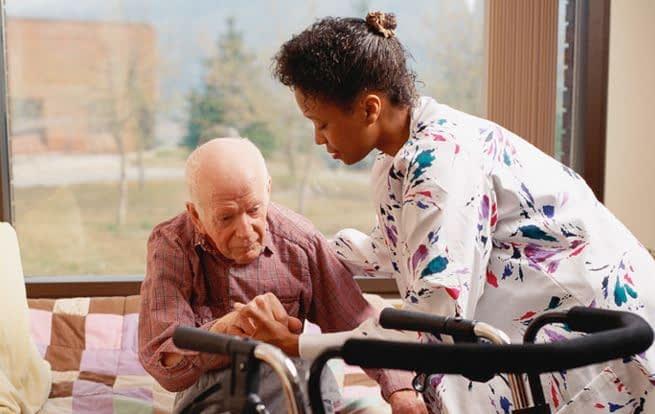 Caregiver for seniors
